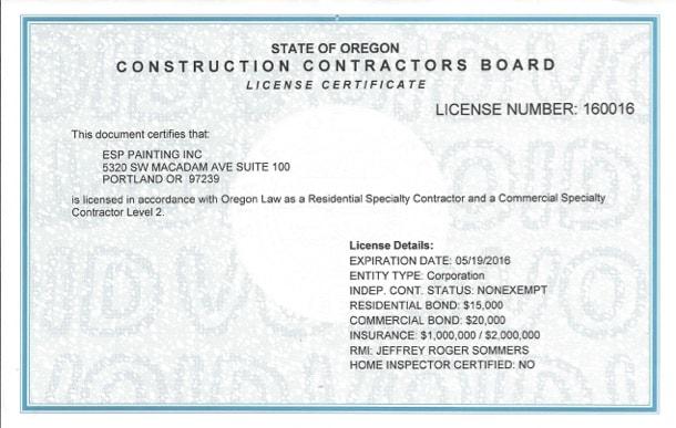 CCB License