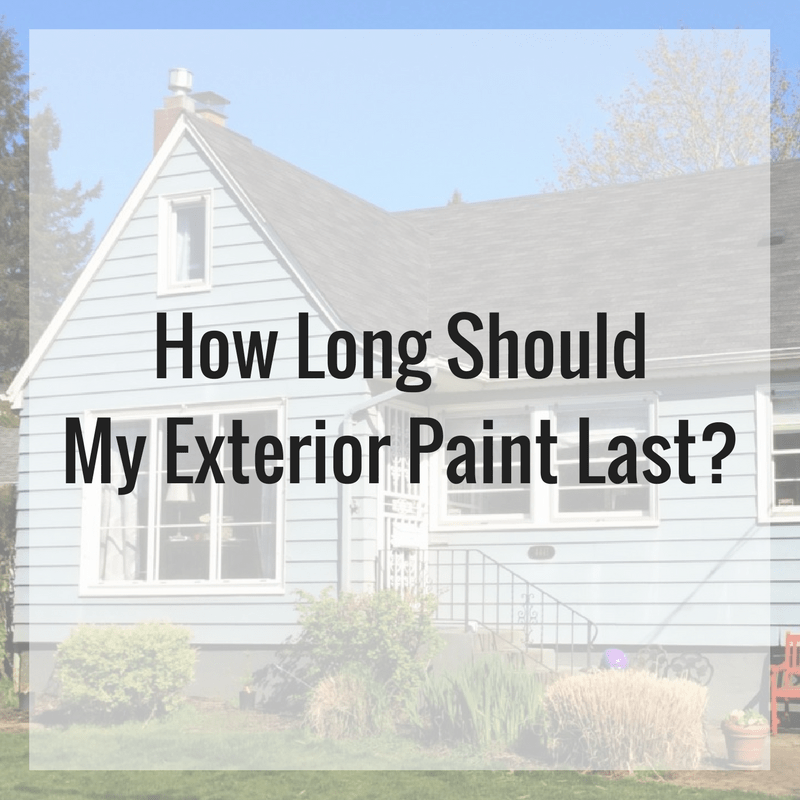 How Long Does Latex Paint Stor Consolidating