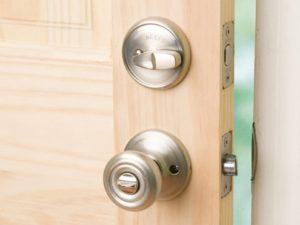 New doorknobs and lock sets
