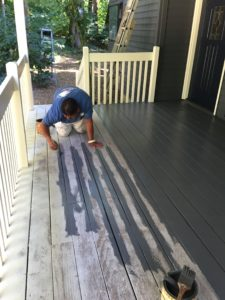 How to Stain or Paint a Deck