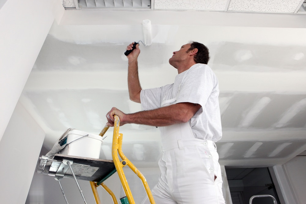 How Do You Paint the Ceiling? Tips for Getting the Job Done Right