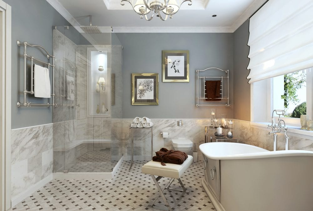 Choosing the Best Four Colors for Your Bathroom Paint
